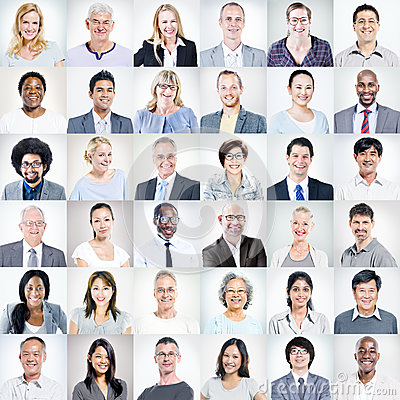 Group of Multiethnic Diverse Business People