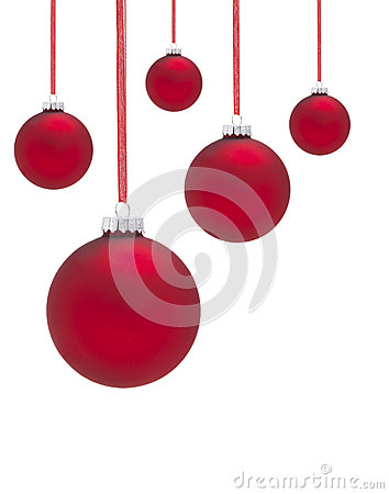 Free Group Of Baubles Royalty Free Stock Photos - 44762618
