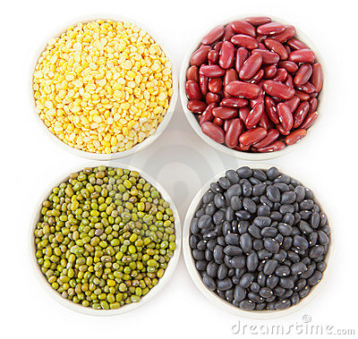 Free Group Of Beans Stock Photography - 23234592