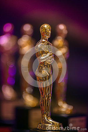 Free Group Of Golden Awards Stock Photography - 47797772