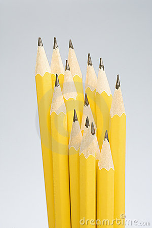 Free Group Of Sharp Pencils. Royalty Free Stock Photo - 2425735