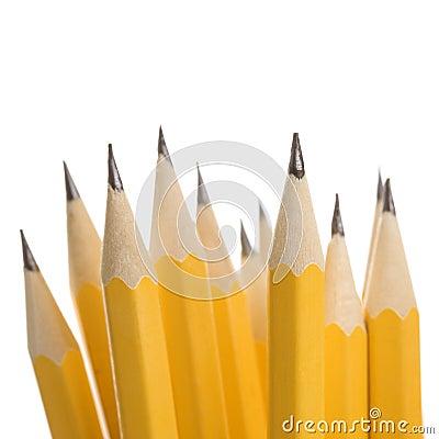 Free Group Of Sharp Pencils. Stock Photo - 2431650