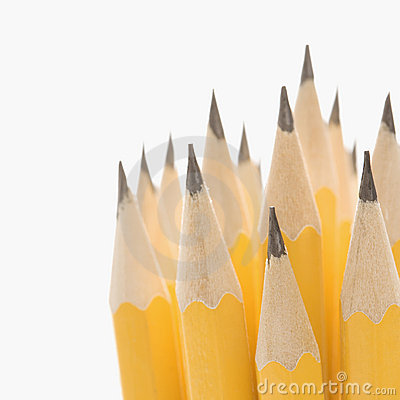 Free Group Of Sharp Pencils. Stock Photography - 2431652