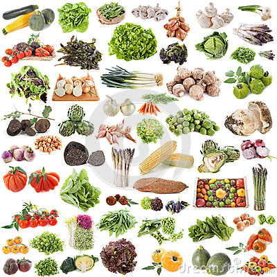Free Group Of Vegetables Stock Photography - 33400242