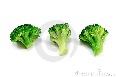 Group Og Green Broccoli Stock Images - Image: 10409324