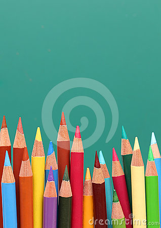 Group of pencils,