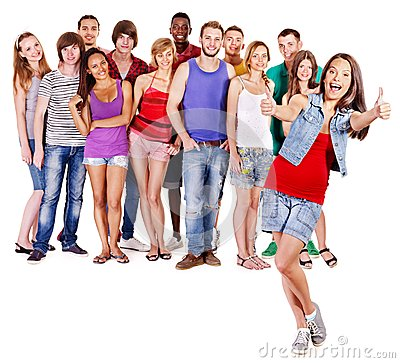 Free Group People Stock Image - 32199411