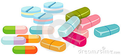 Group of pills