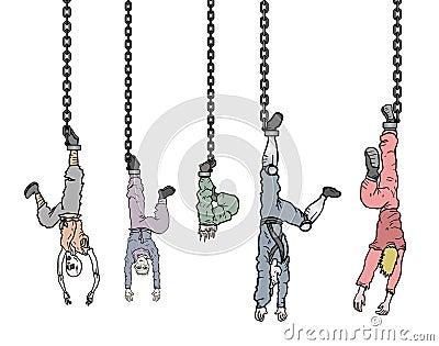 Group prisoner
