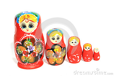 Group of Russian Doll