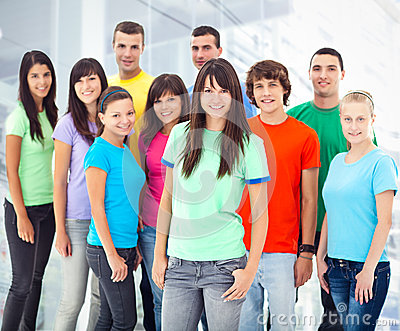 Group of Smiling People5