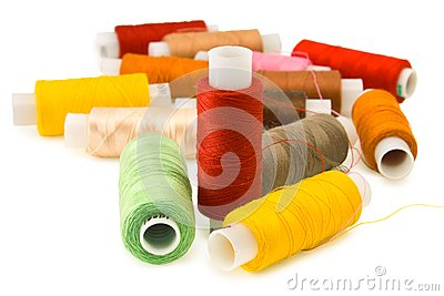 Group of spool of thread