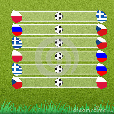Group stage of football