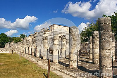 Group of the Thousand Columns, Chichen-Itza