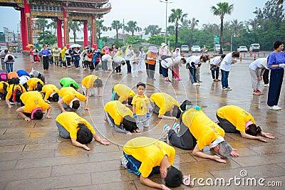 Group Yoga Outdoor Free Public Domain Cc0 Image