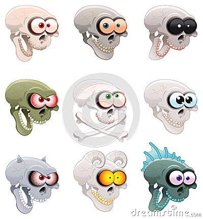 Groupe de crânes