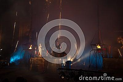Groupe Titanic de l Allemagne dans le spectacle Photo stock éditorial