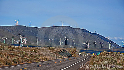 Groupes électrogènes modernes de moulin de vent