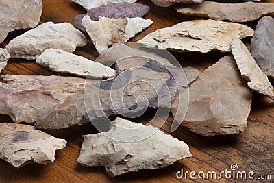 Grouping of Arrowheads