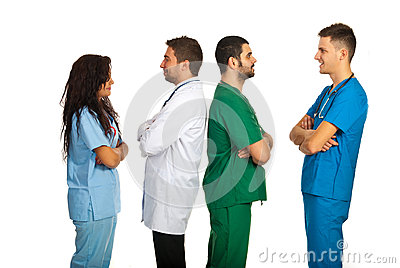 Groups of doctors