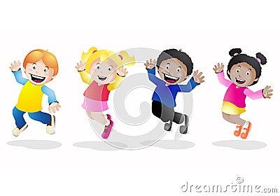 Groups of kids