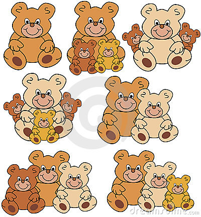 Groups of teddies