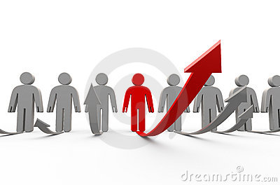 Grow of people