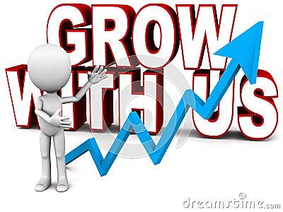 Grow with us