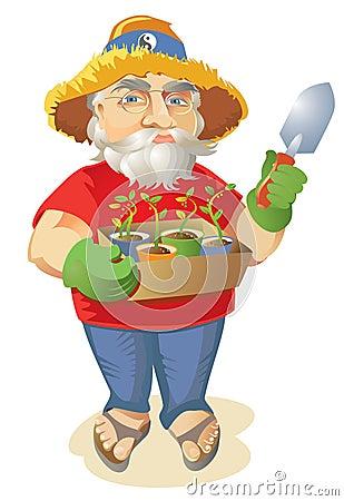 Grow Your Own Hippie Organic Gardener