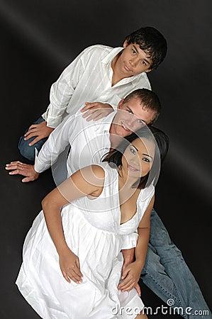 Free Growing Family Royalty Free Stock Photos - 8102468