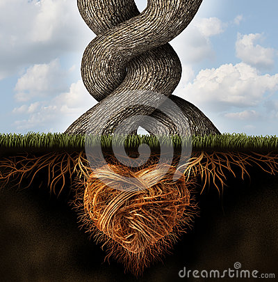 Growing-In-Love Stock Photo