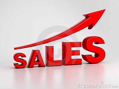 Growing Sales Concept