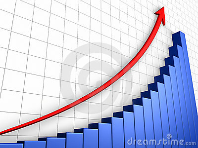 Growth Graph With Grid