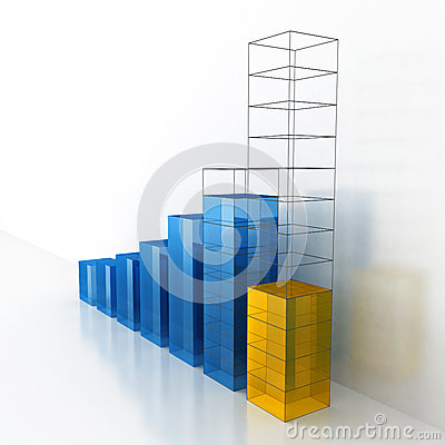Growth & Progress Business Bar Chart Project