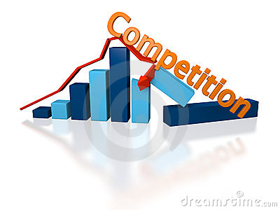 Growth ruined by competition