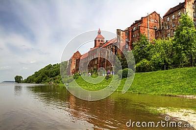 Grudziadz granary flooded