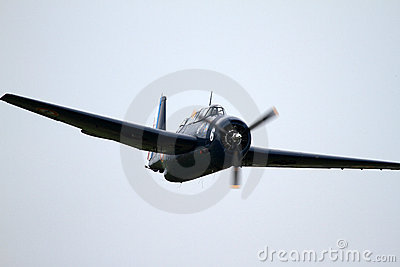 Grumman Avenger - at La Comina 100 anniversary Editorial Photo