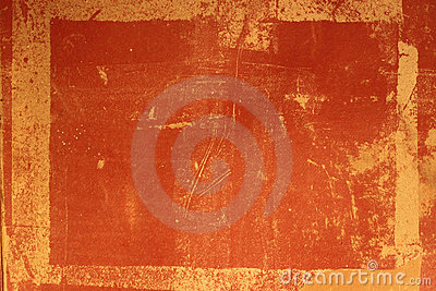 Grundge Red Antique Frame or Overlay