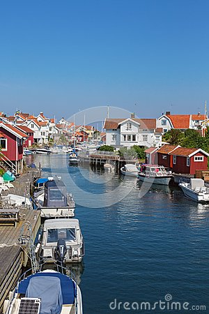 Free Grundsund A Old Fishing Village Royalty Free Stock Photography - 55679537