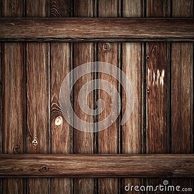 Grunge老木板条背景