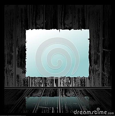 Grunge δωμάτιο