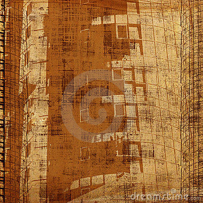 Grunge abstract background with art  image