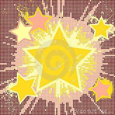 Grunge abstract background of explosion star.