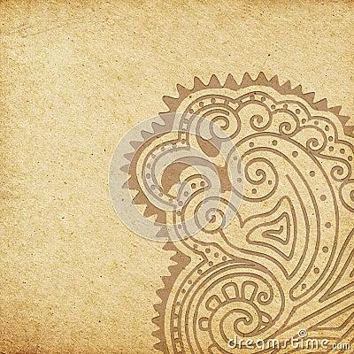 Grunge African Background
