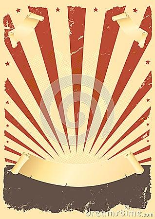Grunge American Poster