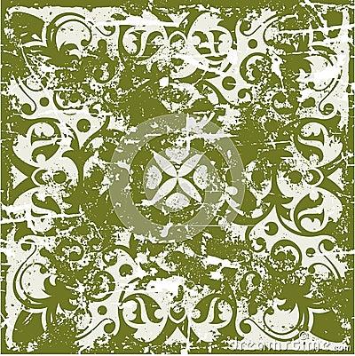 Grunge ancient pattern
