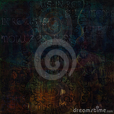 Grunge artistic background