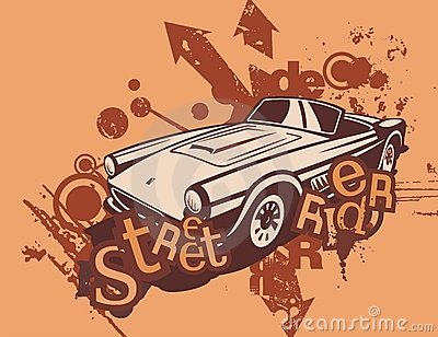 Grunge Automotive Background