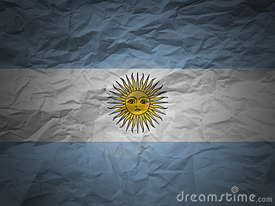 Grunge background Argentina flag