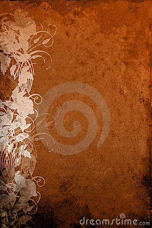 Grunge Background Bronze